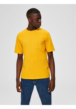 Selected Homme - T-shirt basic - old gold