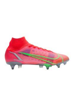 Nike Performance - MERCURIAL SPECTRUM ELIT - Fußballschuh Stollen - rotsilber