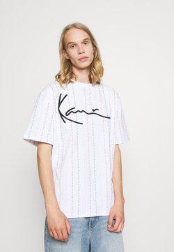 Karl Kani - UNISEX SIGNATURE LOGO TEE - T-shirt con stampa - white