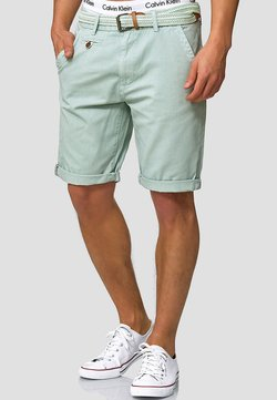 INDICODE JEANS - CASUAL FIT - Shorts - surf spray