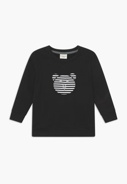 Turtledove - APPLIQUE BEAR - Sweater - black
