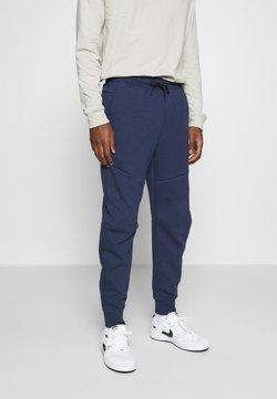 Nike Sportswear - M NSW TCH FLC JGGR - Jogginghose - midnight navy/black