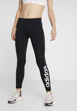 adidas Performance - LIN - Tights - black/white