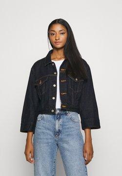 Levi's® - LOOSE SLEEVE TRUCKER - Veste en jean - dark indigo