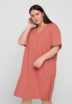 Zizzi - Vestido ligero - canyon rose