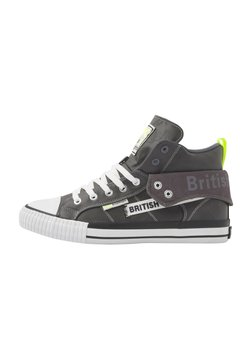 British Knights - ROCO TAG - Sneaker low - dk grey/neon yellow