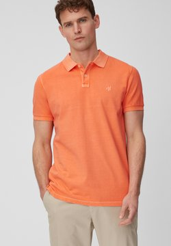 Marc O'Polo - SHORT SLEEVE BUTTON PLACKET - Poloshirt - orange