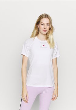 Tommy Hilfiger - PERFORMANCE LOGO - T-paita - white