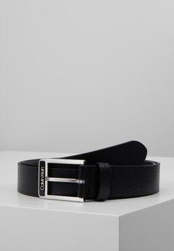 Calvin Klein - 35MM ENAMEL BUCKLE  BELT - Belt - black