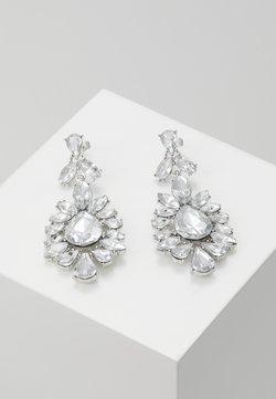 Pieces - PCGLITZ EARRINGS - Örhänge - silver-coloured
