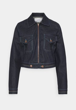 Victoria Victoria Beckham - RAINBOW STITCH HARRINGTON JACKET - Jeansjacke - raw
