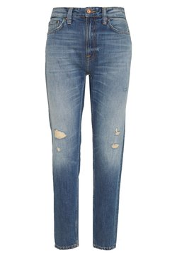 Nudie Jeans - BREEZY BRITT - Jeans relaxed fit - destroyed denim