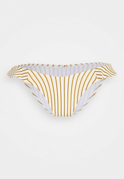 watercult - SUMMER STRIPES - Bikini-Hose - white/honey
