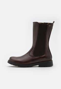s.Oliver - BOOTS  - Stiefel - mocca