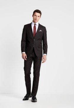 Bugatti - SUIT REGULAR FIT - Costume - bordeaux