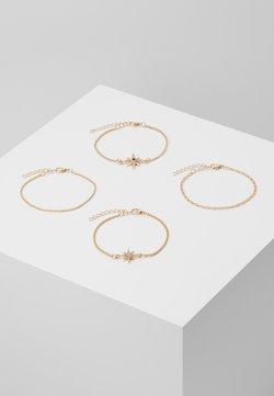 ONLY - ONLGIANNA 4 PACK BRACELET - Bracelet - gold-coloured