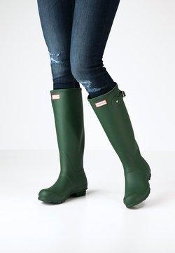 Hunter ORIGINAL - ORIGINAL TALL - Gummistövlar - green