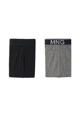 Mango - STRIPE PACK 2  - Slip - nero