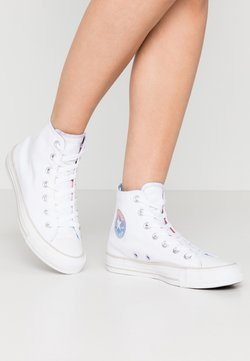 Converse - CHUCK TAYLOR ALL STAR - Baskets montantes - white/multicolor/pale putty