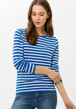 BRAX - STYLE CARINA - Langarmshirt - blue