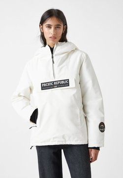 PULL&BEAR - PACIFIC REPUBLIC - Winterjacke - white