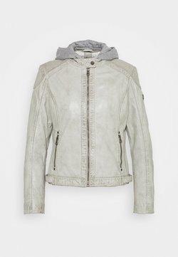 Gipsy - ABBY - Leren jas - light grey