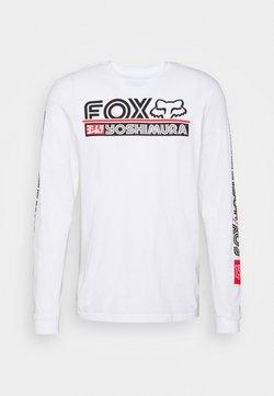 Fox Racing - YOSHIMURA TEE - Langarmshirt - white