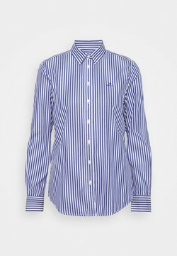 GANT - THE BROADCLOTH STRIPED - Bluse - college blue