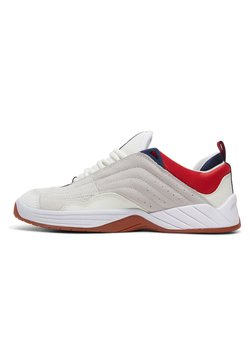 DC Shoes - Williams - Chaussures de skate - WHITE/NAVY/RED