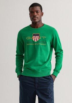 GANT - PLUS ARCHIVE SHIELD - Collegepaita - lavish green
