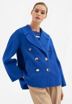 Luisa Spagnoli - Krótki płaszcz - royal blu