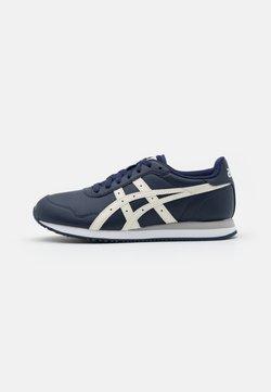 ASICS SportStyle - TIGER RUNNER - Sneaker low - peacoat/ivory