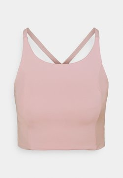 Cotton On Body - STRAPPY CROSS BACK VESTLETTE - Top - pink sherbet