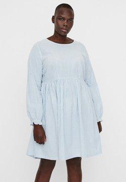 Vero Moda Curve - Sukienka letnia - placid blue