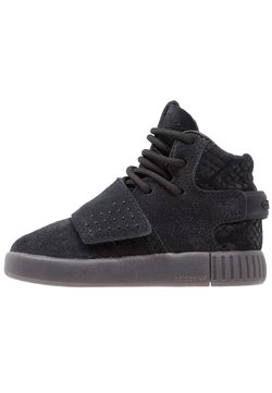 adidas Originals - TUBULAR INVADER - Lauflernschuh - core black/utility black