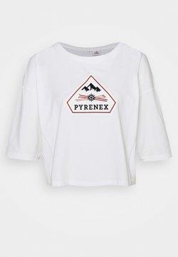 PYRENEX - MARY - T-shirt imprimé - white