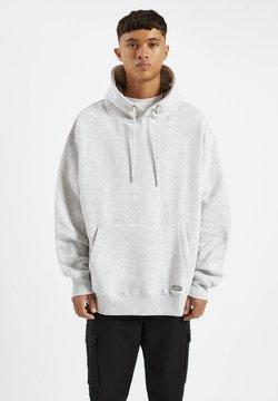 PULL&BEAR - Bluza z kapturem - grey