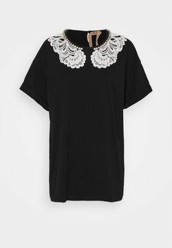 N°21 - TEE - T-shirt con stampa - black