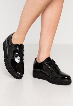 Gabor Comfort - Lace-ups - schwarz