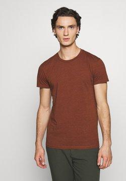 Samsøe Samsøe - KRONOS STRIPE - T-Shirt print - umber
