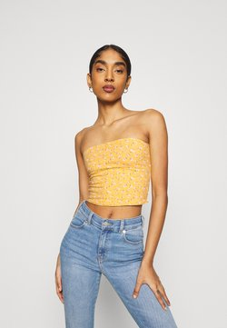 Hollister Co. - REVERSIBLE TUBE  - Top - gold