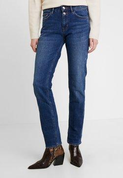 s.Oliver - SMART STRAIGHT - Straight leg jeans - blue
