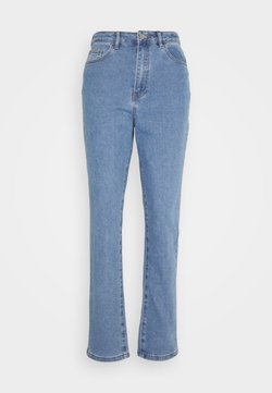 Missguided - HIGHWAISTED COMFORT STRETCH  - Relaxed fit jeans - blue
