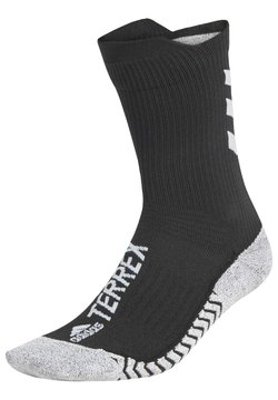 adidas Performance - TERREX TECHFIT PRIMEGREEN TRAXION CREW SOCKS - Sportsocken - black