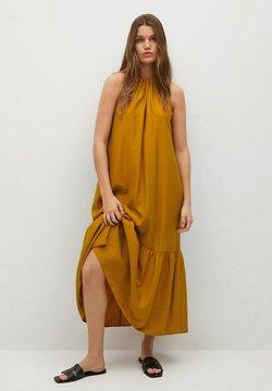 Mango - BILBAO I - Vestido informal - rotbraun