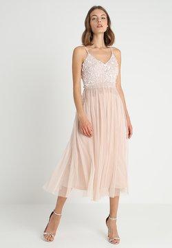 Lace & Beads - RIRI MIDI - Cocktailkleid/festliches Kleid - nude