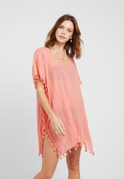 Seafolly - BEACH EDIT-AMNESIA KAFTAN - Beach accessory - vintage coral