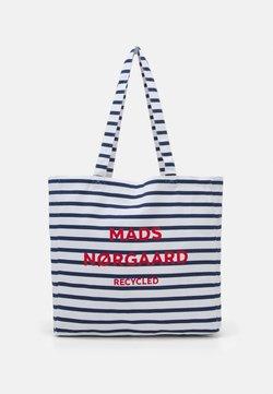 Mads Nørgaard - BOUTIQUE ATHENE - Shoppingväska - off white/navy