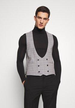 Topman - LUTHER - Gilet elegante - grey