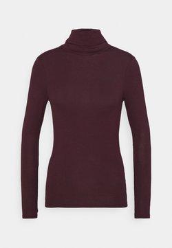 New Look - ROLL NECK - Långärmad tröja - dark burgundy